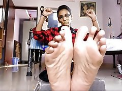 Amateur, Foot Fetish, Indian