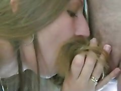 Amateur, Blonde, Blowjob, Handjob
