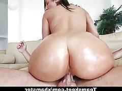 Big Boobs, Big Butts, Brunette, Cumshot, Small Tits