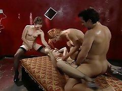 Blowjob, Cumshot, Group Sex, Hardcore, Vintage