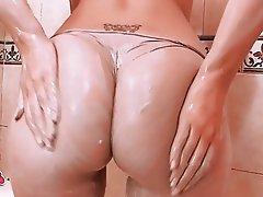 Big Boobs, Big Butts, Blonde, Shower, Teen