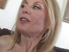 Cumshot, MILF, Old and Young, Pornstar, Stockings
