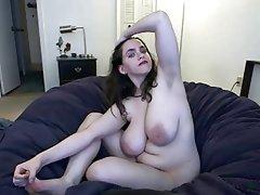 Amateur, BBW, Big Boobs, Nipples, Webcam