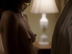 Brunette, Masturbation, Nipples, Softcore