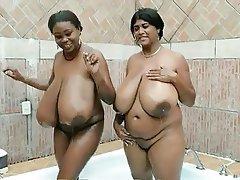 BBW, Big Boobs, Indian, Lesbian