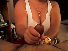 Big Tits, Handjob, Amateur, Homemade