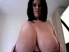 BBW, Big Boobs, British, Brunette