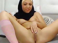 Arab, Asian, Masturbation, Webcam