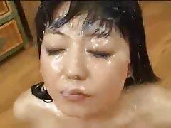 Asian, Babe, Cumshot, Facial, Hardcore